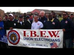 IBEW President Edwin D. Hill Retires